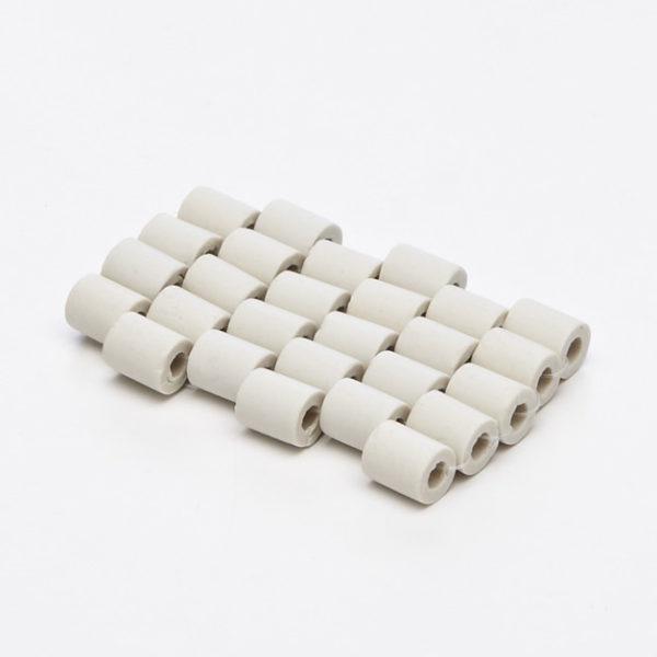 27 cilindretti in ceramica EM