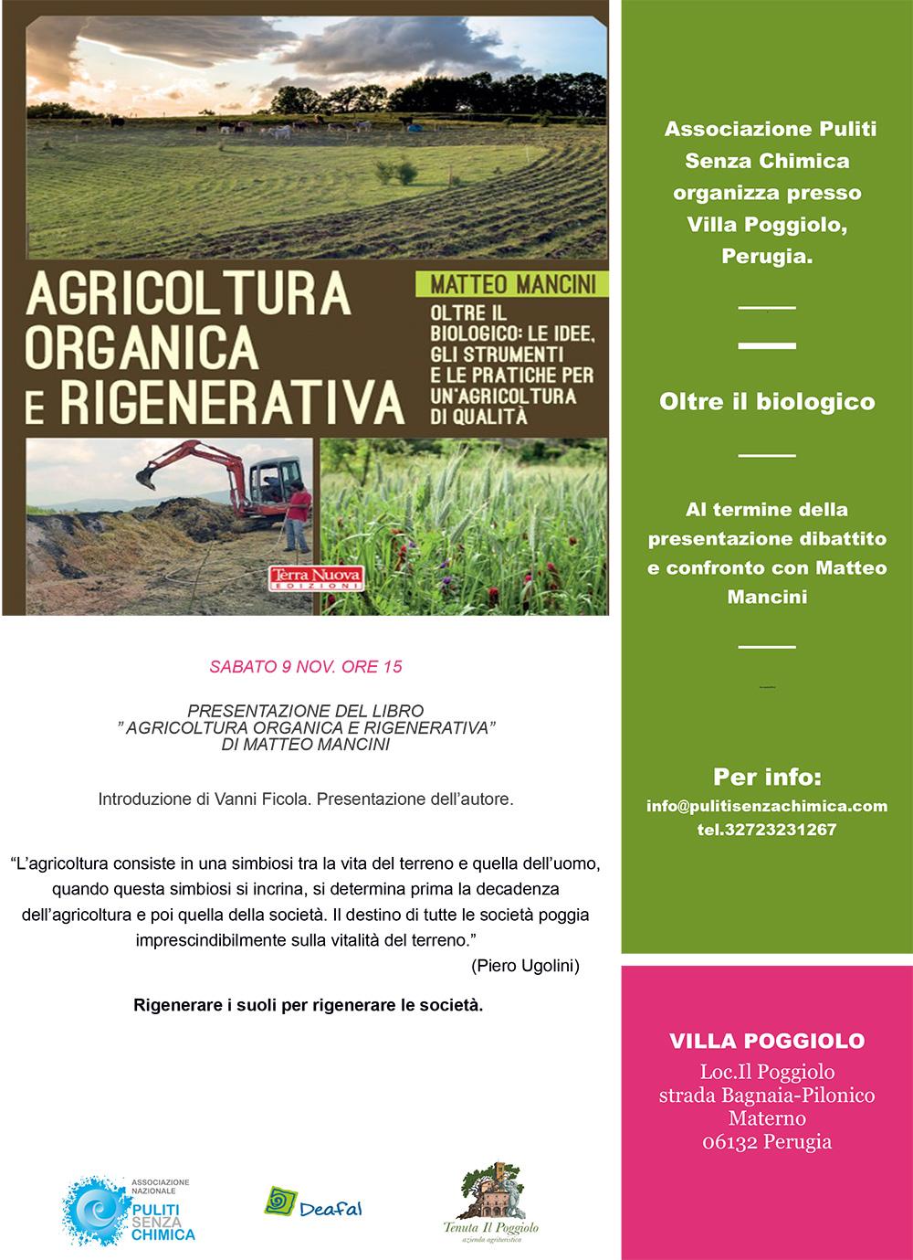 agricoltura organica rigenerativa