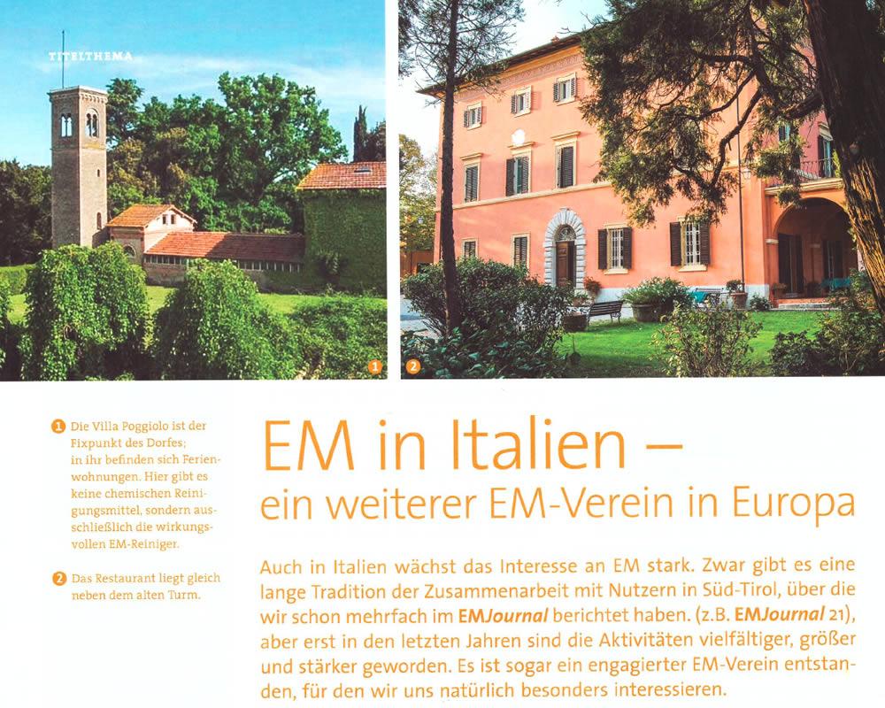 EM in Italien